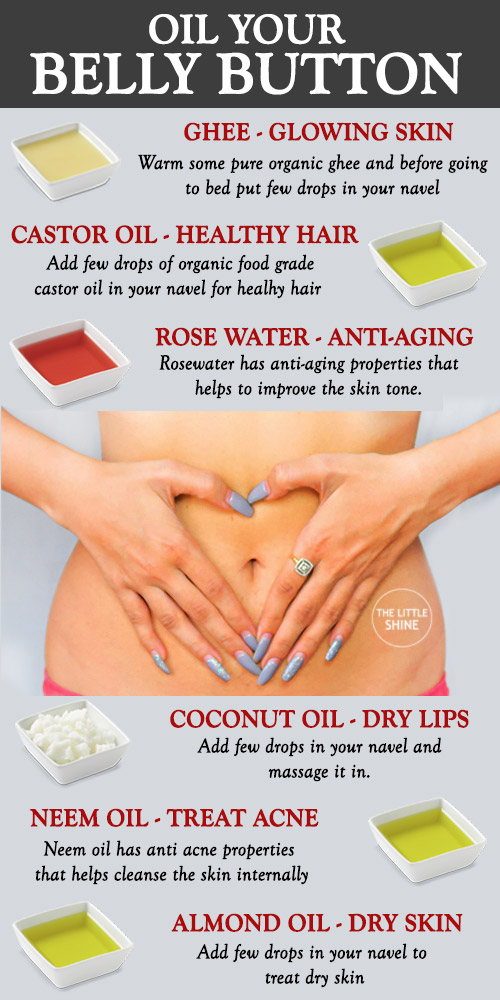 AMAZING BELLY BUTTON REMEDIES