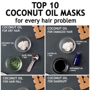 COCONUT OIL HAIR MASKS