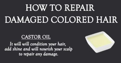 NATURAL REMEDIES TO REPAIR DRY DAMAGED COLOR TREATED HAIR