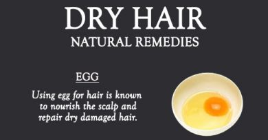 NATURAL REMEDIES TO TREAT DRY FRIZZY HAIR
