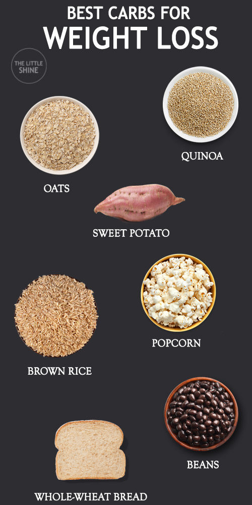 10 BEST CARBS FOR WEIGHT LOSS