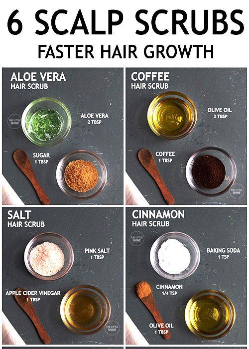 6 BEST SCALP SCRUB RECIPES FOR HEALTHY HAIR GROWTH