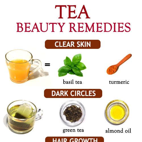 TOP 15 BEAUTY REMEDIES USING TEA