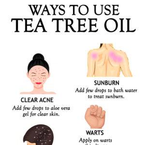 WAYS TO USE TEA TREE OIL