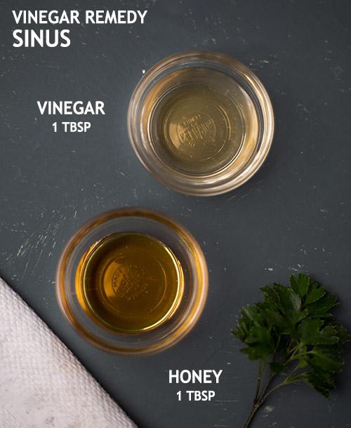 VINEGAR REMEDY FOR SINUS