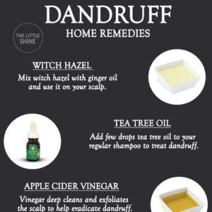 BEST REMEDIES TO TREAT DANDRUFF