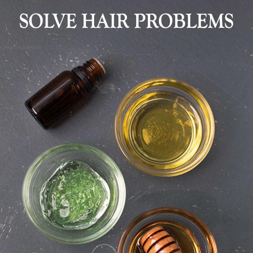SOLVE HAIR PROBLEMS