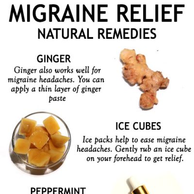 TOP HOME REMEDIES FOR MIGRAINE RELIEF