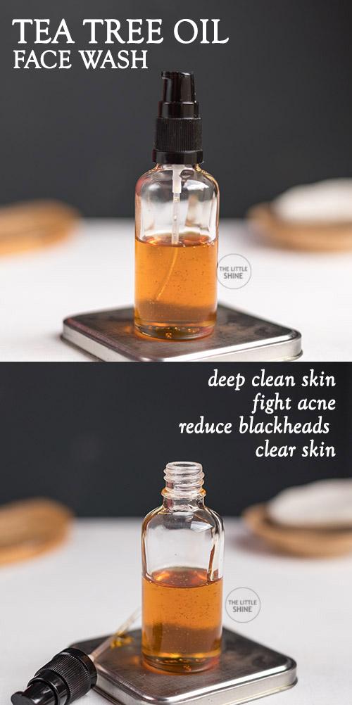 TEA TREE FACE CLEANSER