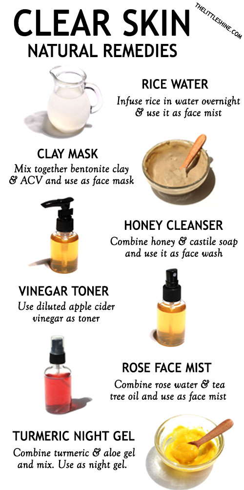 10 BEST NATURAL REMEDIES FOR CLEAR SKIN