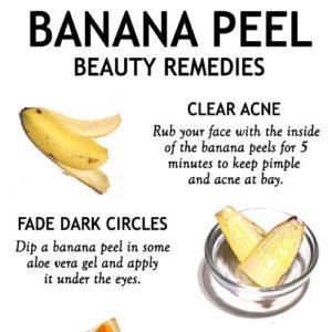 UNUSUAL WAYS TO USE A BANANA PEEL