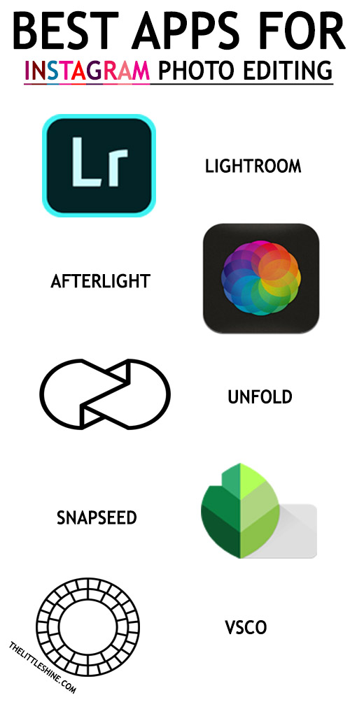 BEST APPS FOR INSTAGRAM PHOTO EDITING