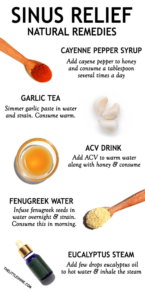 BEST NATURAL REMEDIES FOR SINUS RELIEF