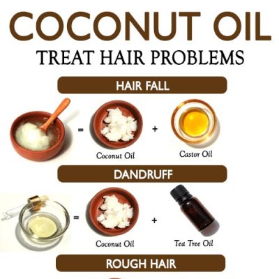 COCONUT OIL TO TREAT EVERY HAIR PROBLEM