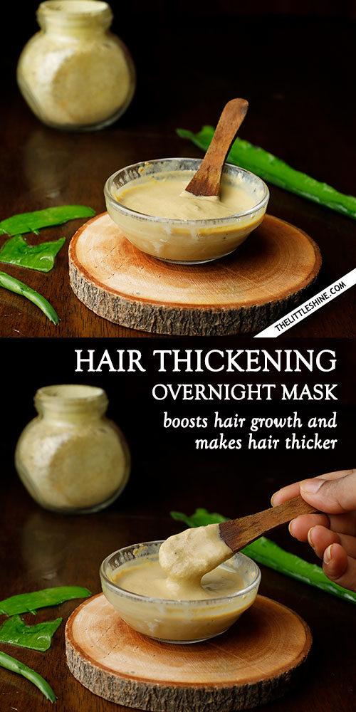 OVERNIGHT ALOE HAIR THICKENING MASK