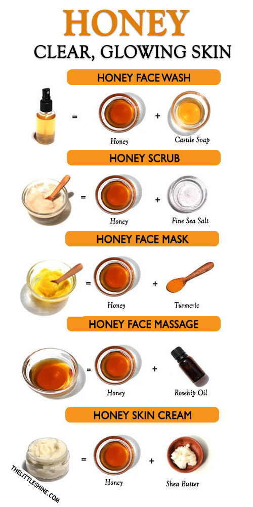 HONEY FOR CLEAR GLOWING SKIN