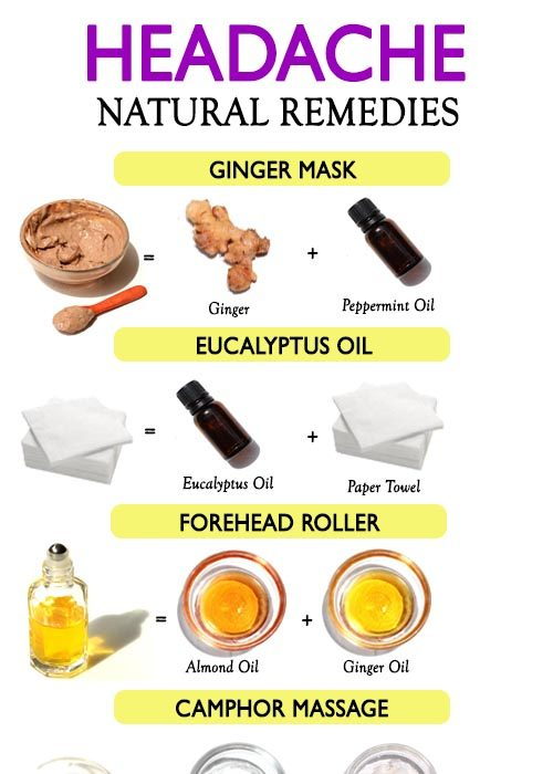 NATURAL REMEDIES FOR HEADACHE