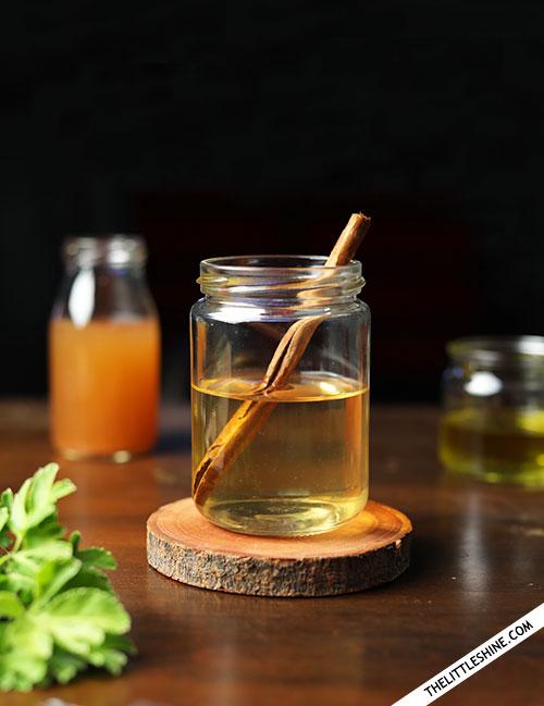 FLAT BELLY APPLE CIDER VINEGAR DETOX DRINK