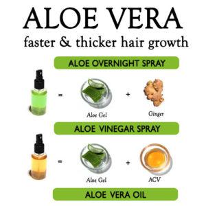 WAYS TO USE ALOE VERA FOR HAIR GROWTH