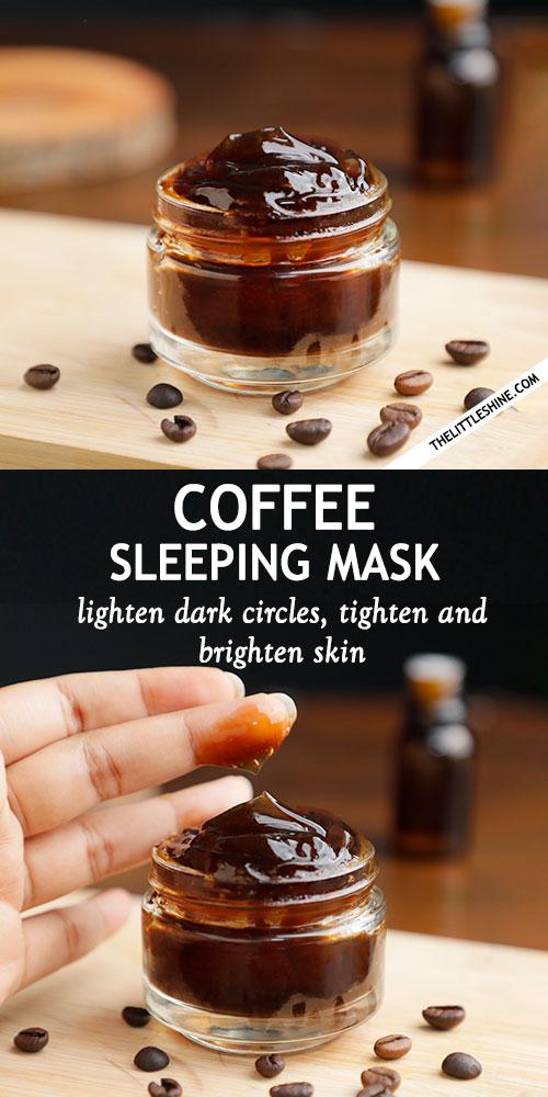 OVERNIGHT COFFEE FACE MASK