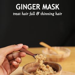 GINGER MASK FOR HAIR GROWTH AND TO TREAT HAIR FALL