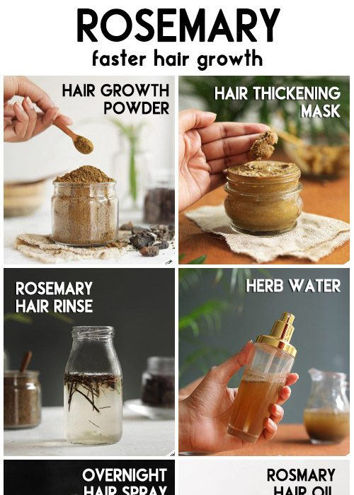 ROSEMARY - benefits, and uses for faster hair growth