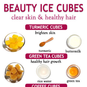 BEAUTY ICE CUBES FOR HEALTHY SKIN AND HAIR