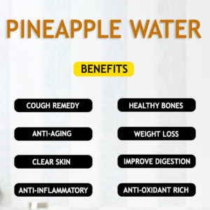PINEAPPLE WATER RECIPE AND BENEFITS