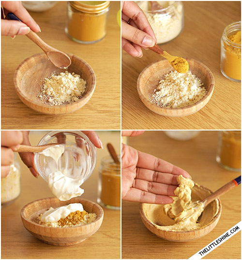 TURMERIC - SKIN BRIGHTENING FACE AND BODY MASK