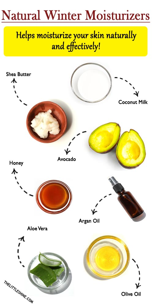 10 EFFECTIVE NATURAL MOISTURIZERS FOR WINTERS