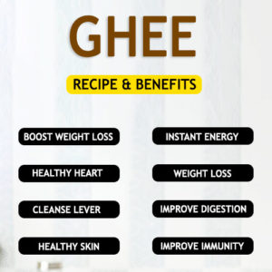 GHEE RECIPE AND BENEFITS