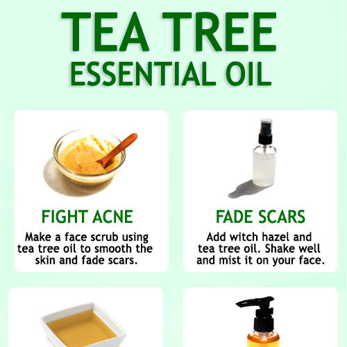 TEA TREE OIL FOR ACNE AND ACNE SCARS