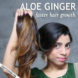 ALOE GINGER FASTER HAIR GROWTH SPRAY