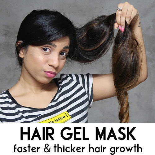 HAIR GEL MASK FOR FASTER HAIR GROWTH