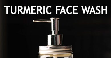 TURMERIC FACE WASH FOR CLEAR HEALTHY SKIN