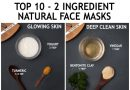 2 ingredients face mask