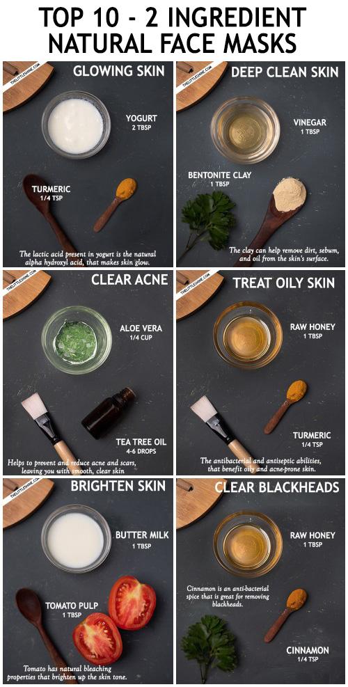 2 ingredients face mask