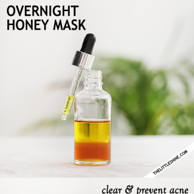 HONEY OVERNIGHT MASK FOR CLEAN AND CLEAR SKIN