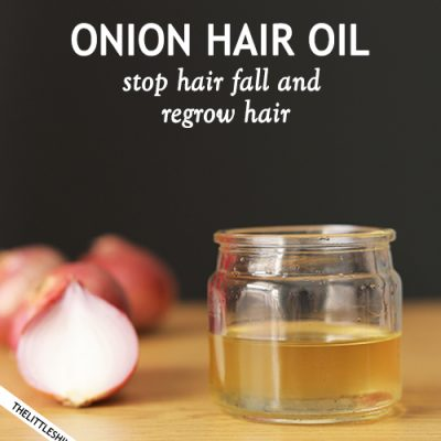 ONION OIL TO STOP HAIR FALL
