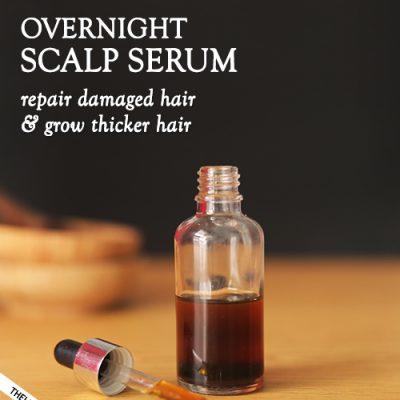 OVERNIGHT SCALP SERUM - longer and thicker hair