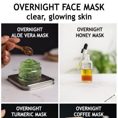 OVERNIGHT FACE MASKS FOR CLEAR GLOWING SKIN