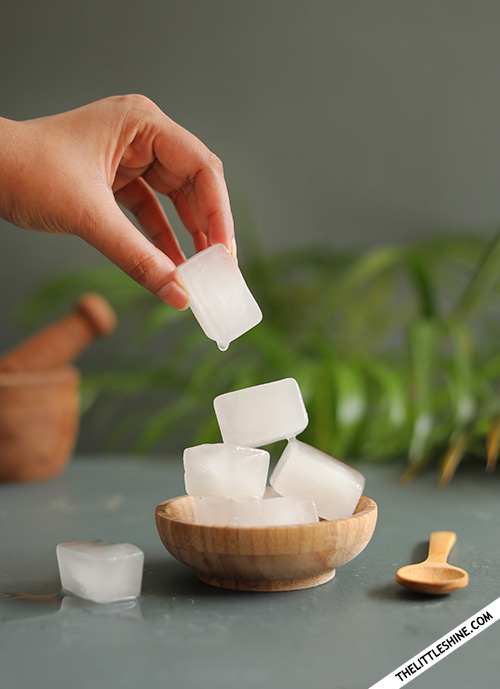 RICE WATER CUBES