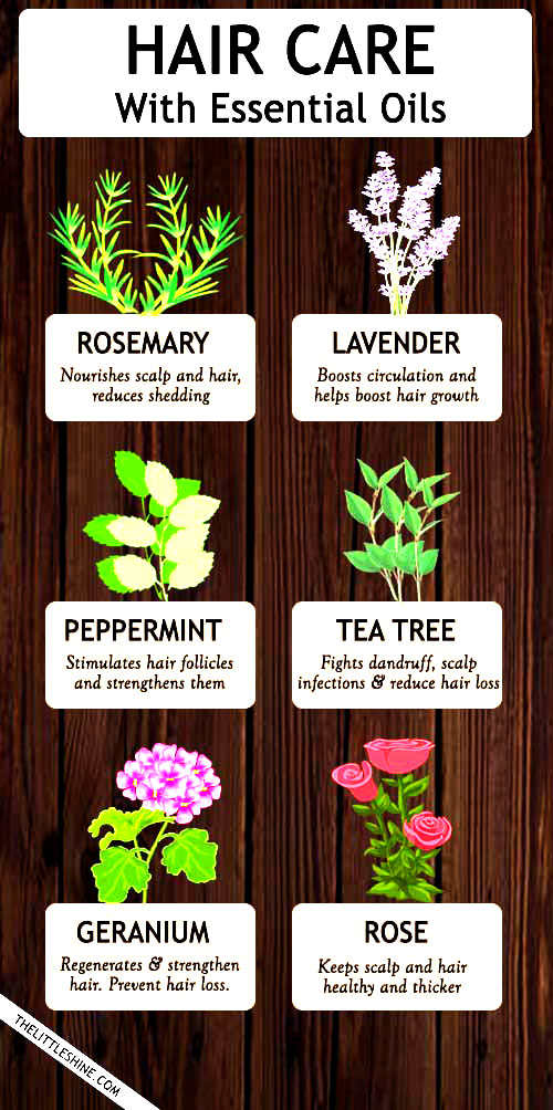 TOP BEST ESSENTIAL OILS FOR HAIR
