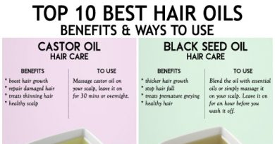 Top 10 best hair oils - benefits and how to use