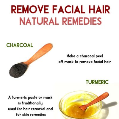 NATURAL REMEDIES TO REMOVE FACIAL HAIR