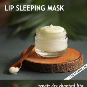 Lip sleeping mask -