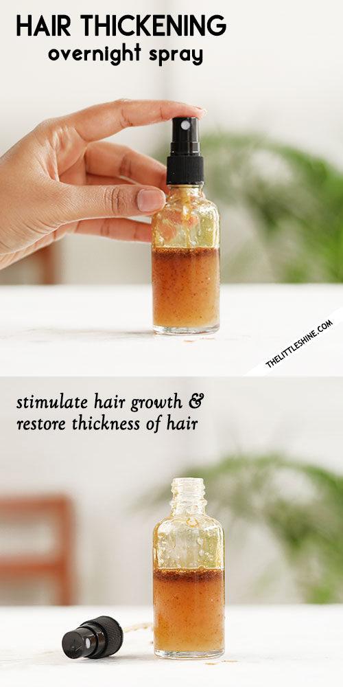 OVERNIGHT HAIR THICKENING SPRAY