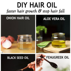 BEST DIY HAIR OILS FOR FASTER HAIR GROWTH