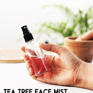 TEA TREE FACE MIST TO TREAT AND PREVENT ACNE