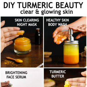 TURMERIC FOR CLEAR HEALTHY AND GLOWING SKIN